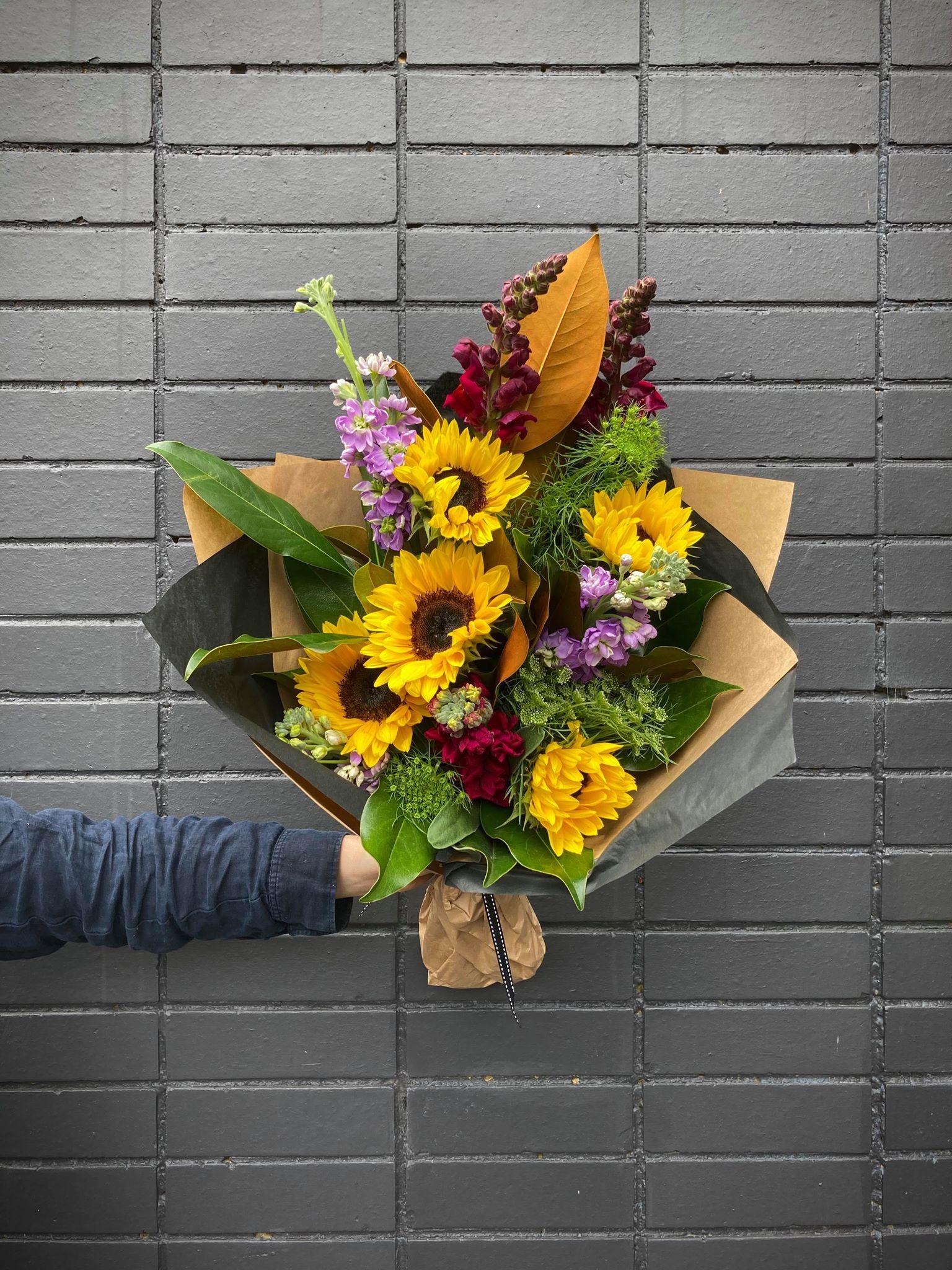 Colourful Bouquet - $75