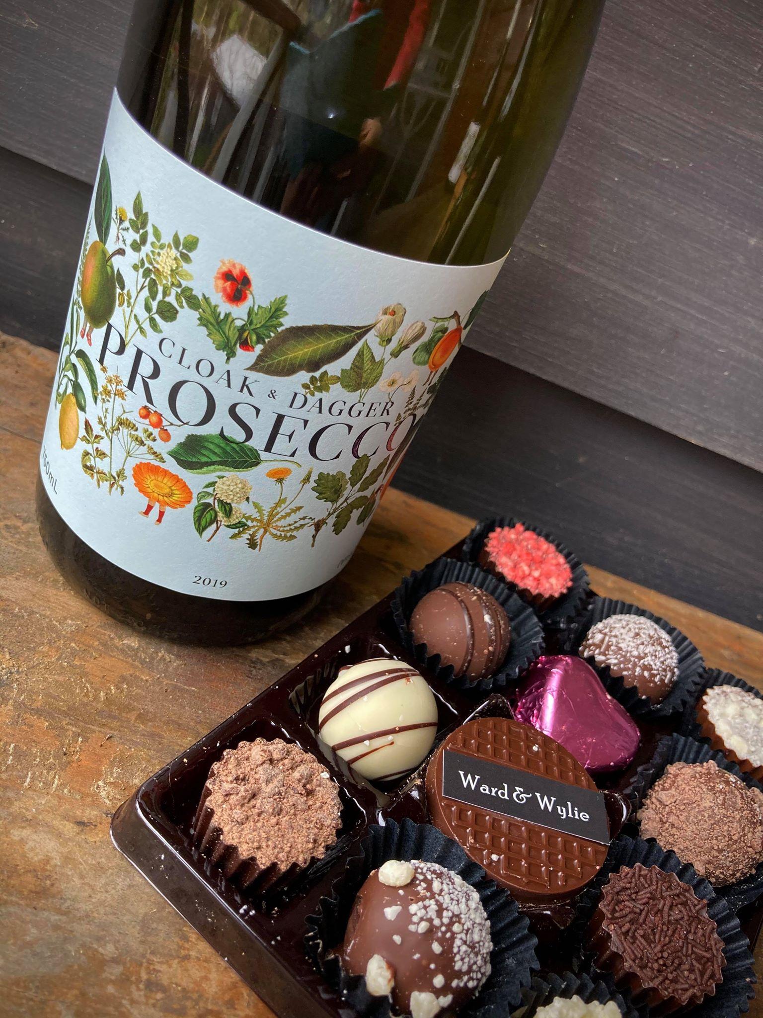 Prosecco / Chocolates - $30 / $22