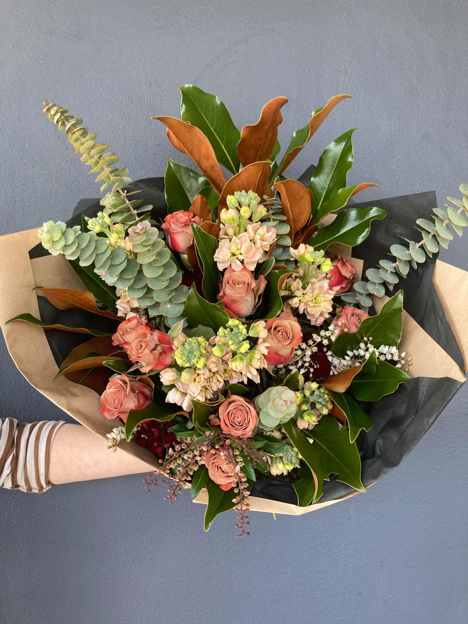 Large Rose Bouquet - $95
