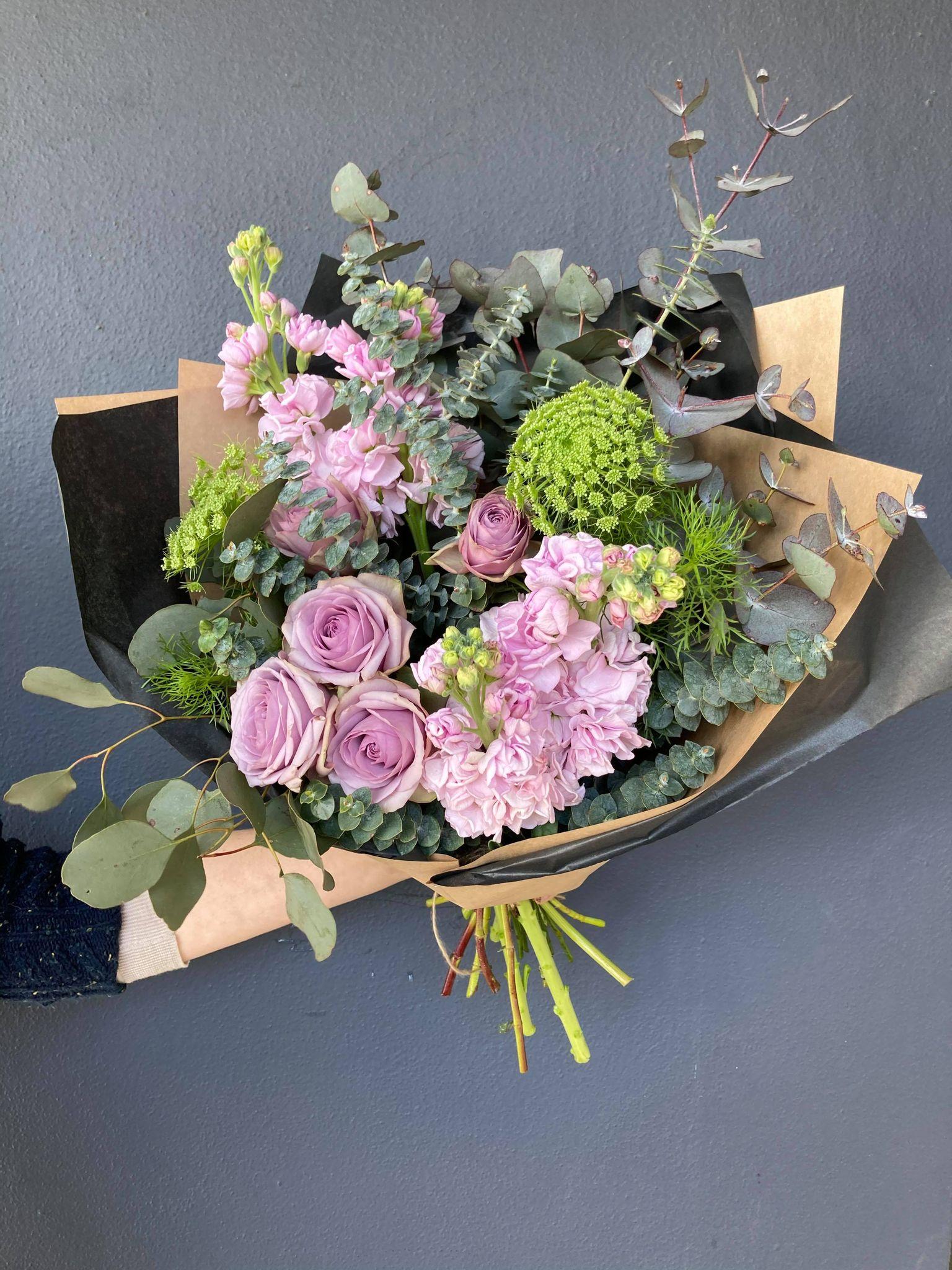 Medium Rose Bouquet - $65