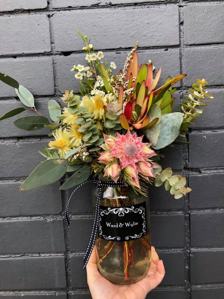 Native Flower Jar - $25